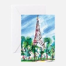 AWP_CafePress_TourEiffel_10x10 Journ Greeting Card