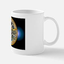 Yule Pentacle - Banner Mug