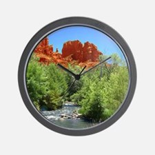 Cathedral Rock Wall Clock