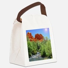 Cathedral Rock Canvas Lunch Bag