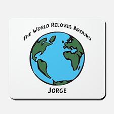 Revolves around Jorge Mousepad