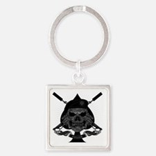 I_WAS_NEVER_HERE_pkt Square Keychain