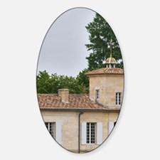 Chateau Gazin and its vineyard Pome Decal