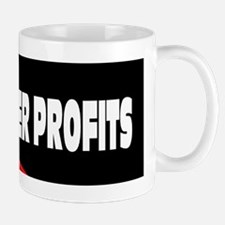 us flag people over profits Mug