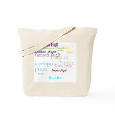 Time Flies 2 Tote Bag
