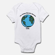 Revolves around Carl Infant Bodysuit