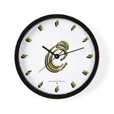Phyllis Initial C Wall Clock