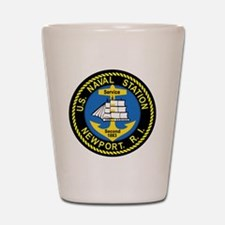 NEWPORT US Naval Station Rhode Island M Shot Glass