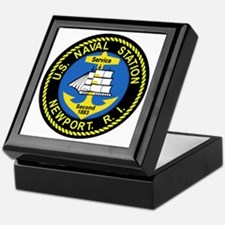 NEWPORT US Naval Station Rhode Island Keepsake Box