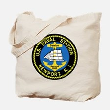 NEWPORT US Naval Station Rhode Island Mil Tote Bag