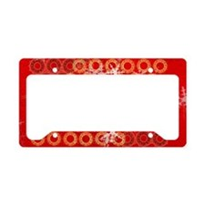 template_sac_epaule_design_ro License Plate Holder