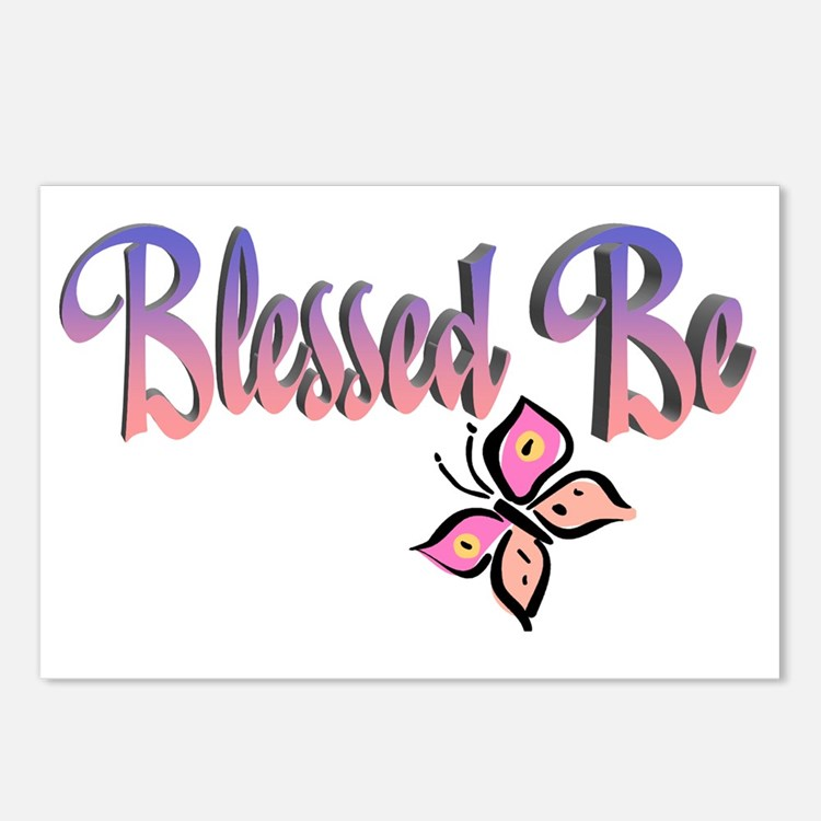 BlessedBe-102011 Postcards (Package of 8)
