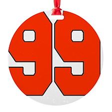 99 Round Ornament