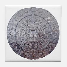 Modern Mayan Calender Tile Coaster