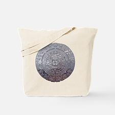 Modern Mayan Calender Tote Bag