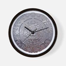 Modern Mayan Calender Wall Clock