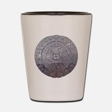 Modern Mayan Calender Shot Glass