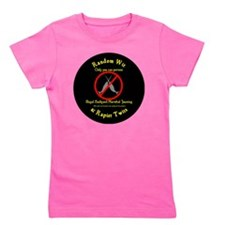 Narwhal Jousting Circle Girl's Tee