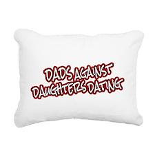 dadsshhot2 Rectangular Canvas Pillow