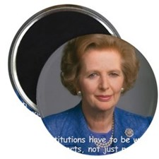 Thatcher Hearts Quote Color Magnet