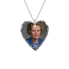 Thatcher Hearts Quote Color Necklace
