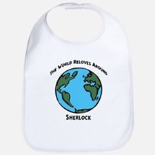 Revolves around Sherlock Bib
