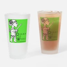 DOWlogosquare Drinking Glass