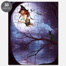 little_witch_16x20_print Puzzle