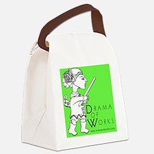 DOWlogosquare Canvas Lunch Bag