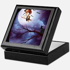 little_witch_16x20_print Keepsake Box
