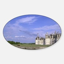 Europe, France, Loire Valley. Chate Sticker (Oval)