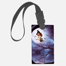 little_witch_framed_panel_print_ Luggage Tag