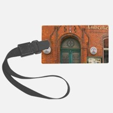 Pub, Lubeck, germany Luggage Tag