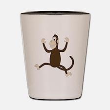 Monkey On My Back (white WoP) Shot Glass