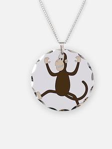 Monkey On My Back (white WoP Necklace