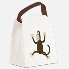 Monkey On My Back (white WoP) Canvas Lunch Bag