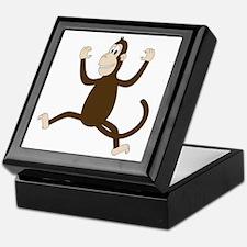 Monkey On My Back (white WoP) Keepsake Box