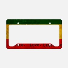 Laptop License Plate Holder