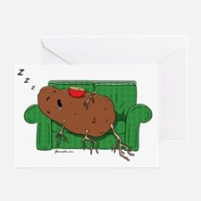 GSCouchPotato01 Greeting Card