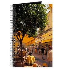 Menton. Rue de la Republique floristiera,  Journal