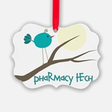 pharmacy tech bird Ornament