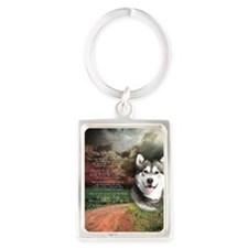 godmadedogs(button) Portrait Keychain