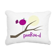 PharmD Bird Rectangular Canvas Pillow