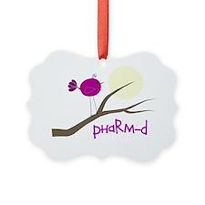 PharmD Bird Ornament
