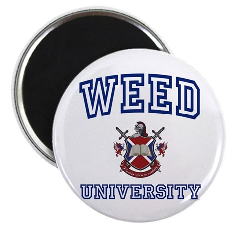 WEED University Magnet