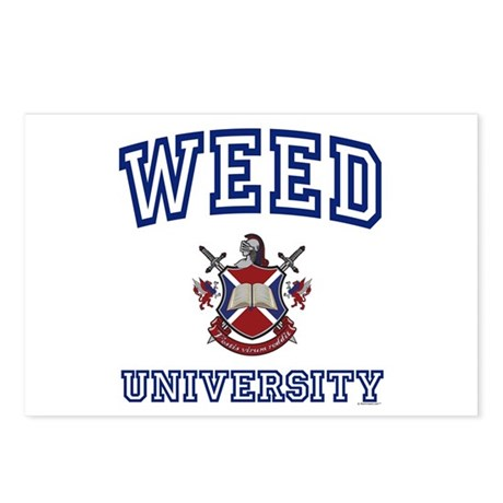 WEED University Postcards (Package of 8)