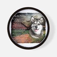 godmadedogs Wall Clock