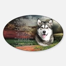 godmadedogs(license) Sticker (Oval)