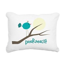 Pharmacist bird Rectangular Canvas Pillow