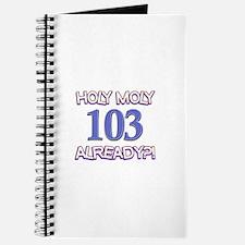 Holy Moly 103 already Journal